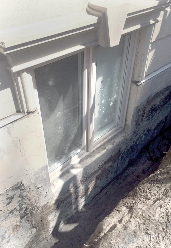 New Forte Window well waterproofing repair