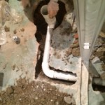 New forte Waterproofing INTERIOR drain drainage pipe