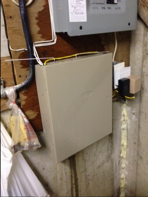 New forte Waterproofing conduit leak panel