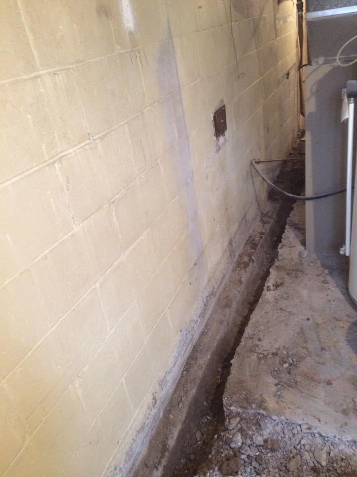 New forte Waterproofing inside drainage 20