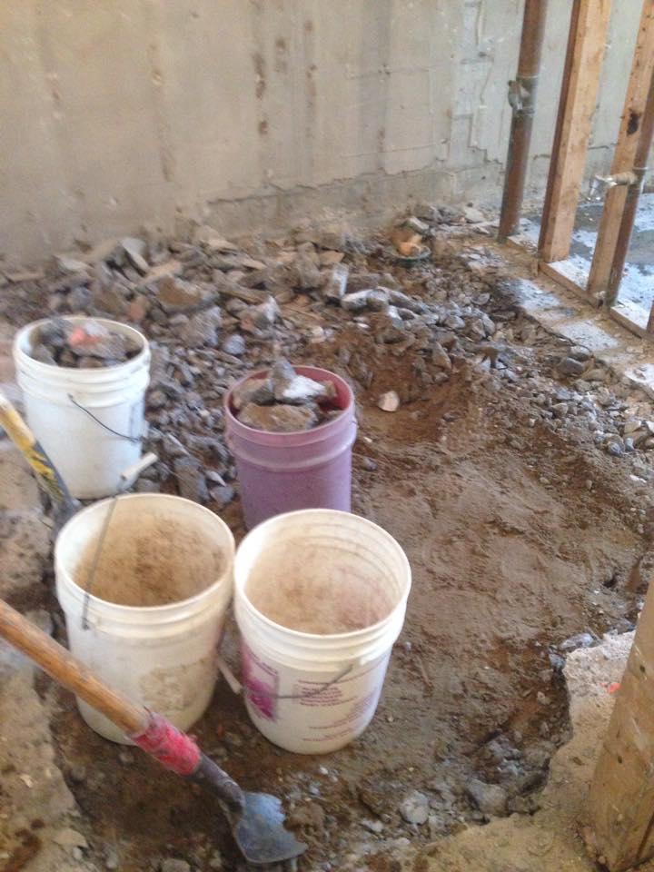 New forte Waterproofing inside drainage 26